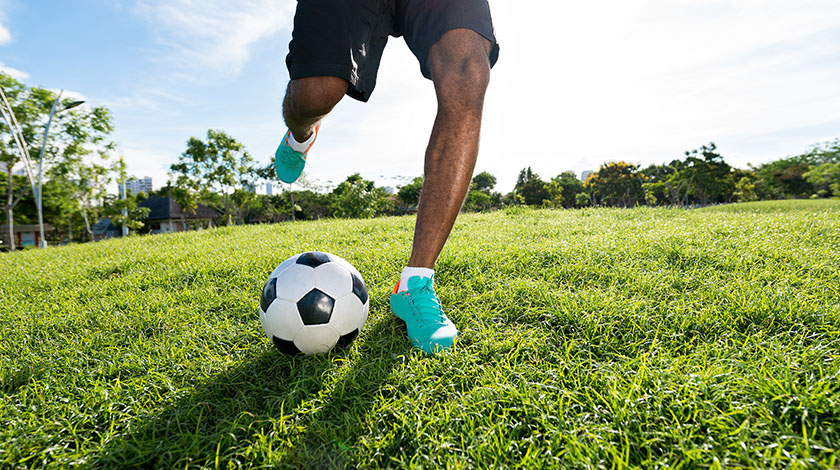 Getting Soccer Fit